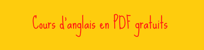 Cours D Anglais Gratuits En Pdf Anglais Pdf Com